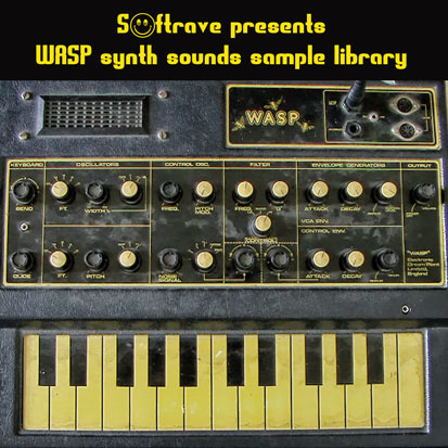 Wasp synth sample library