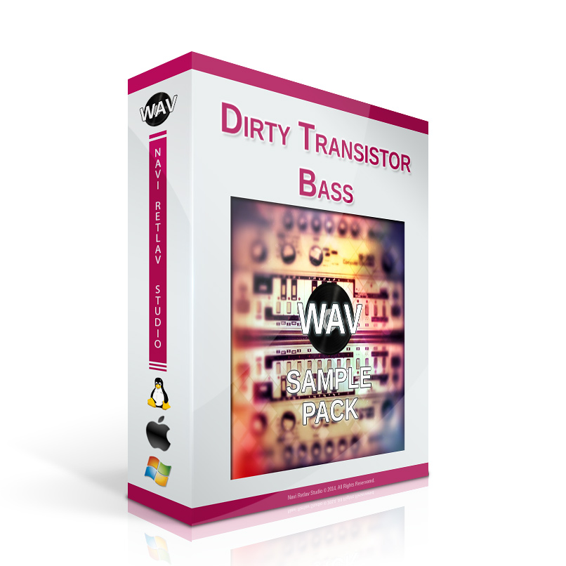 Dirty Transistor Bass - WAV Loops
