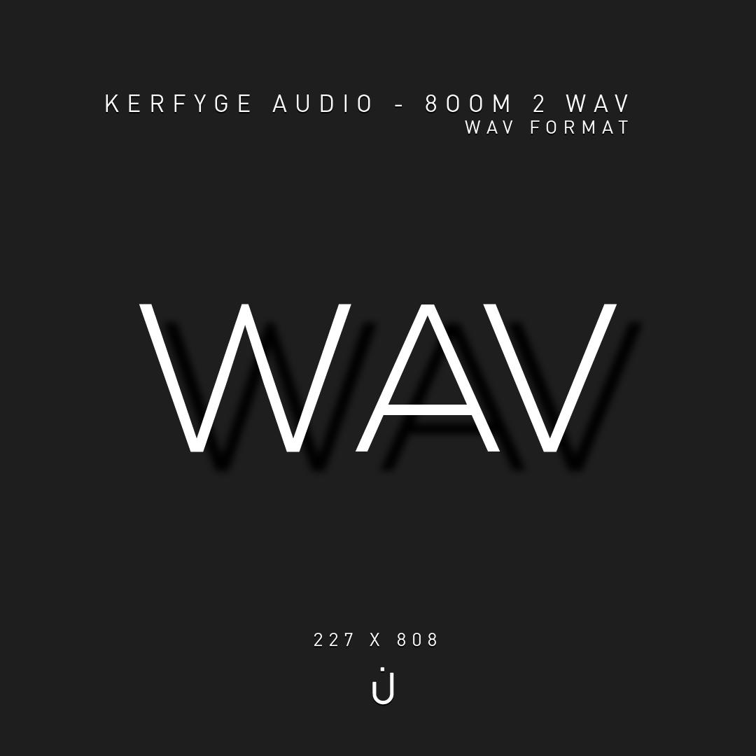Kerfyge Audio - 808 One Shots