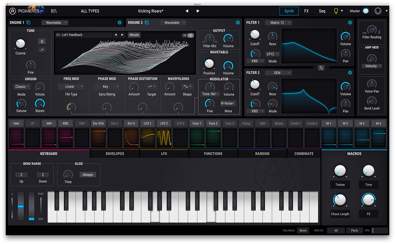 KVR: Pigments by Arturia - Synth VST Plugin, Audio Units