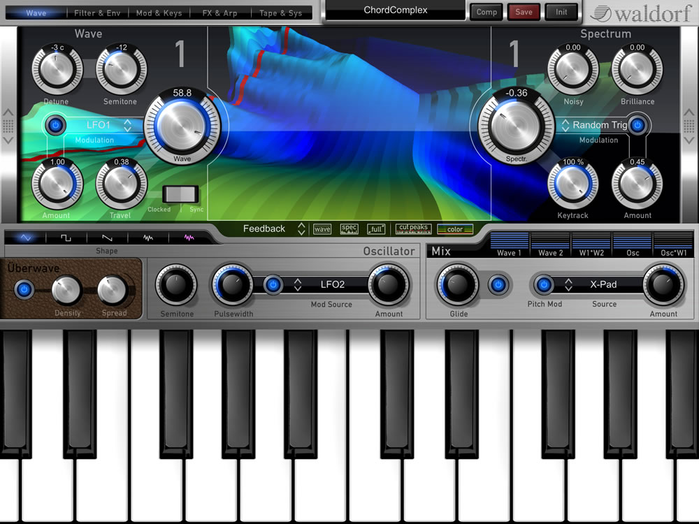 Nave by Waldorf - Synth (Wavetable) Plugin VST VST3 Audio Unit AAX