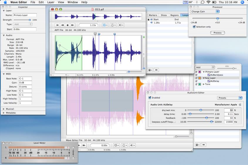 Kvr Wave Editor By Aurchitect Audio Editor