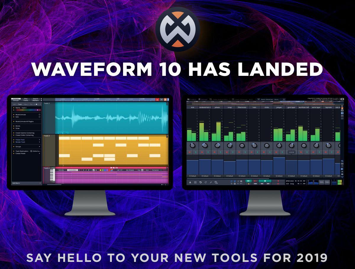 KVR: Tracktion Software releases Waveform 10 1