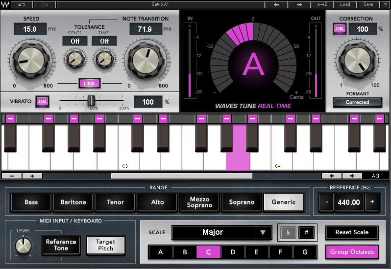 KVR: Waves Tune Real-Time by Waves - Pitch Correction / Auto-tuning