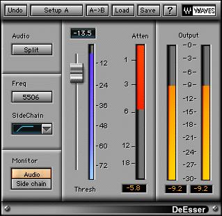 KVR: DeEsser by Waves - Deesser VST Plugin, Audio Units Plugin, VST