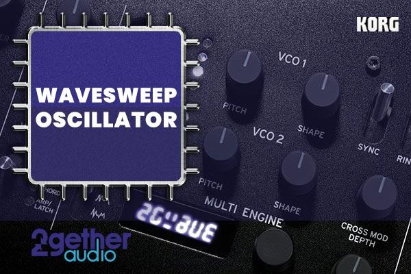 KORG Wavesweep Oscillator