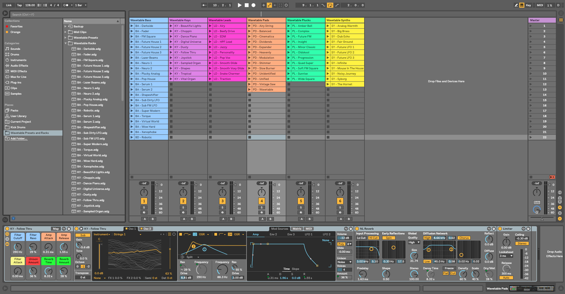 KVR: Ableton Wavetable Presets and Racks by New Loops - Ableton