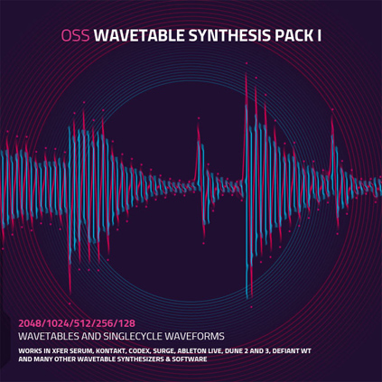 Wavetable Synthesis Pack One