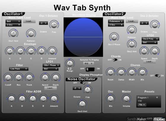 Wav Tab Synth