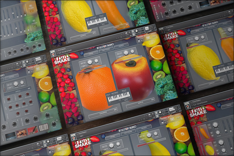 KVR: Fruit Shake by In Session Audio - Shaker VST Plugin
