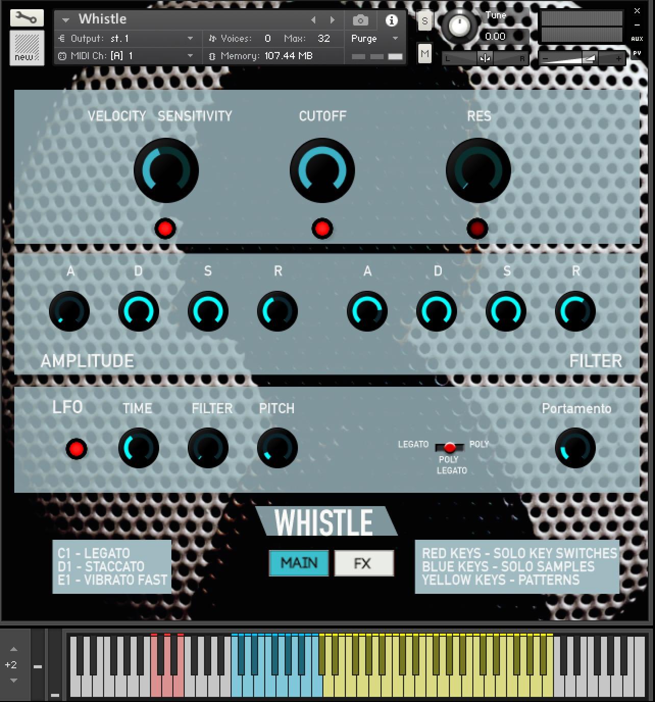 KVR: Rast Sound releases Whistle for Kontakt - free until 2019