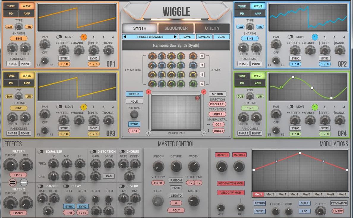 2nd Sense Wiggle Sound Library