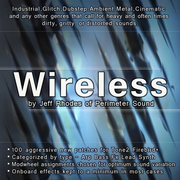 Wireless - Firebird+ Patch Bank