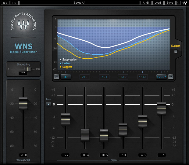 Waves Noise Suppressor (WNS)