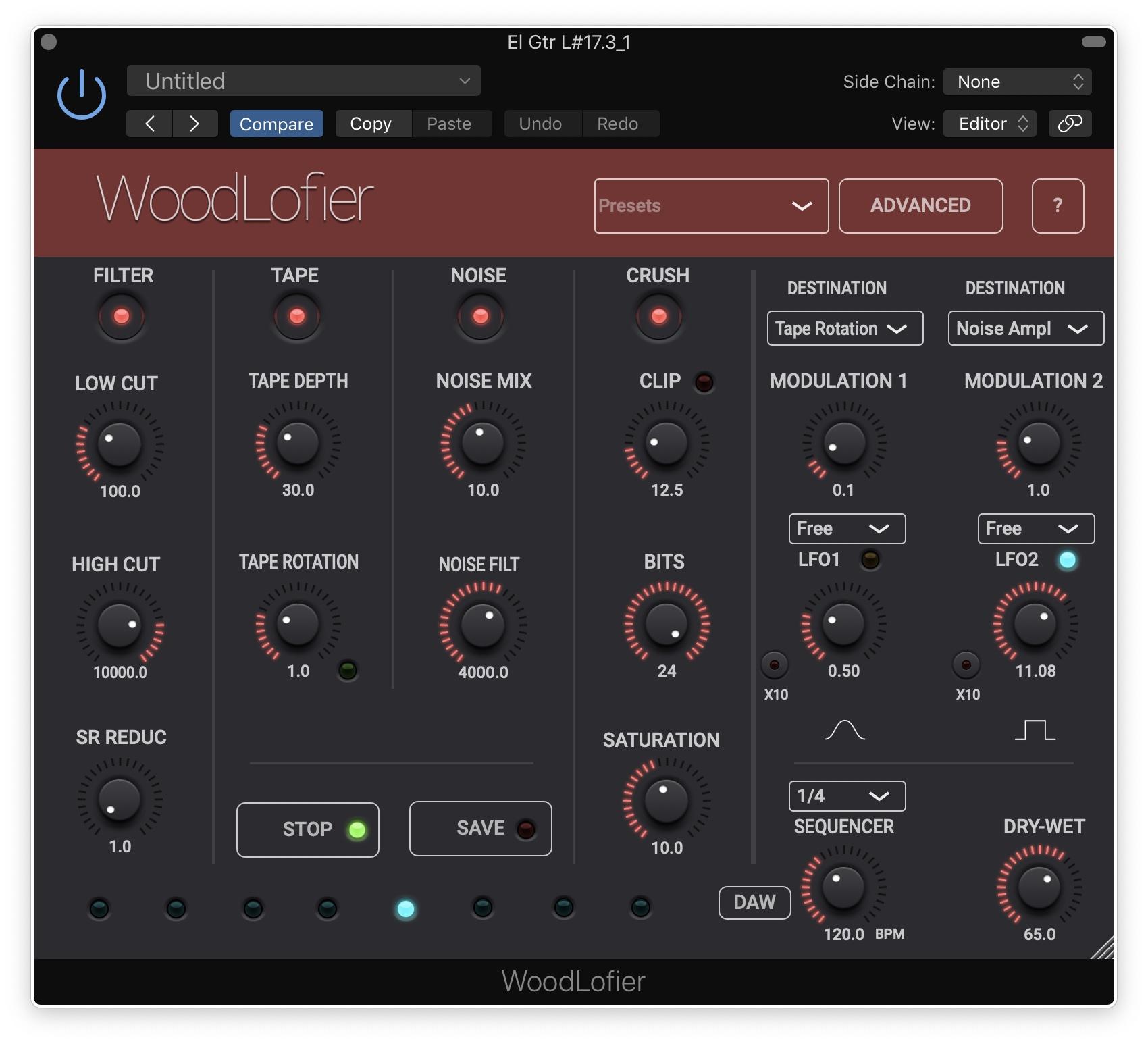 KVR: WoodLofier by Woodman's Immaculate Maple Syrup Studio - Lo-Fi