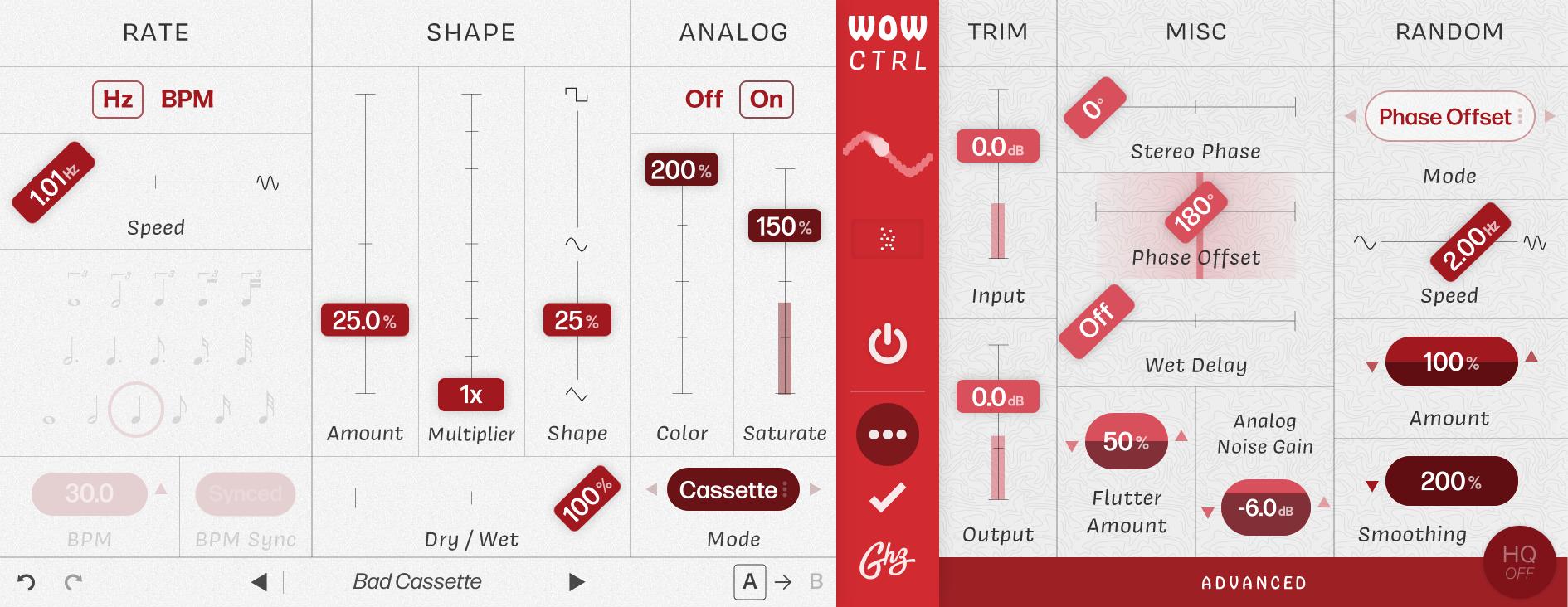 KVR: Wow Control by Goodhertz - Analog Tape Emulator VST