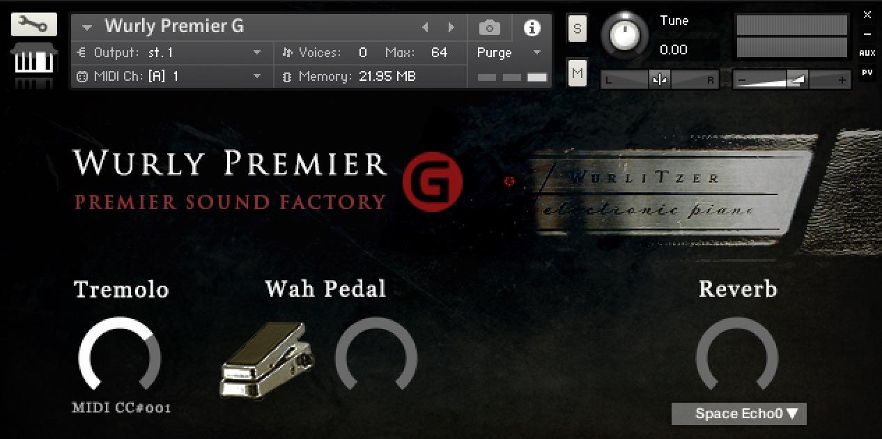 Wurly Premier G