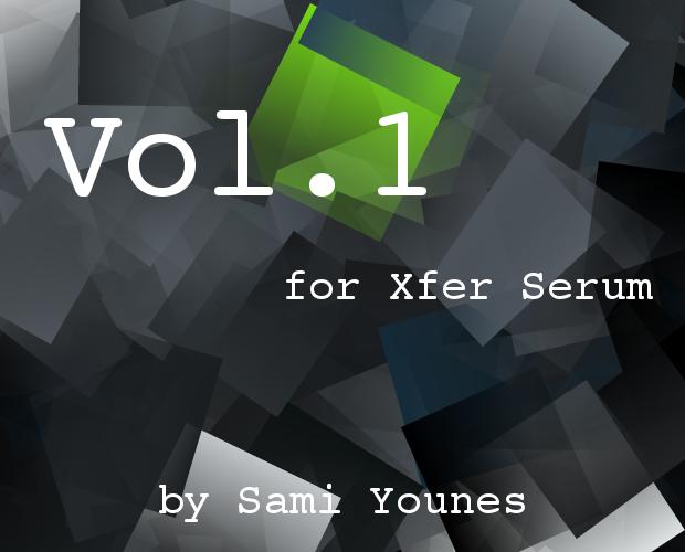 Soundset Vol.1 for Xfer Serum