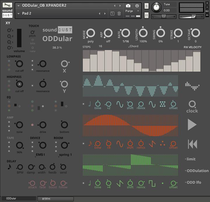 KVR: Sound Dust release ODDular sample library for Kontakt with 20