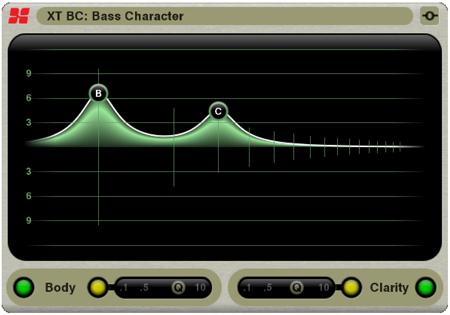 XT-BC Bass Character