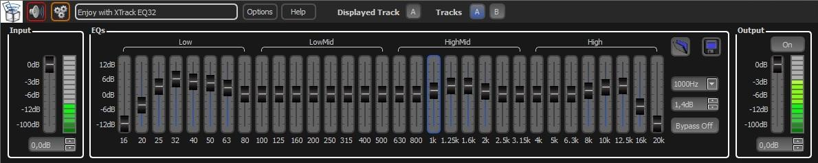 KVR: XTrack EQ32 by SoundOutTheBox - Equalizer VST Plugin and VST 3