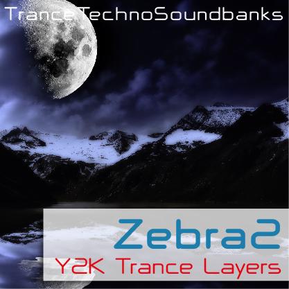 Zebra2 Y2K Trance Layers