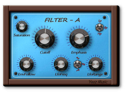 KVR: Filter - A by Yooz Music - Filter VST Plugin and Audio