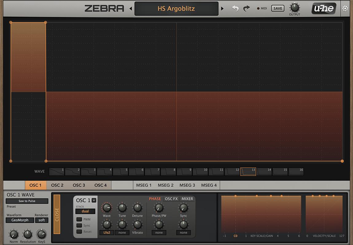 Zebra by u-he - Synth (Modular) VST VST3 Audio Unit AAX RTAS