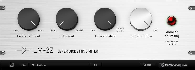 Zener Diode Limiter LM-2Z (analog)