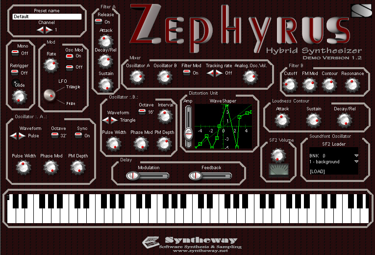 kvr zephyrus by syntheway virtual musical instruments synth hybrid vst plugin. Black Bedroom Furniture Sets. Home Design Ideas