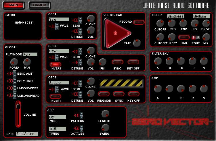 Zero Vector by White Noise Audio - Synth (Hybrid) VST Plugin