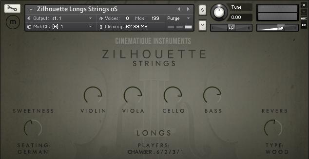 Zilhouette Strings