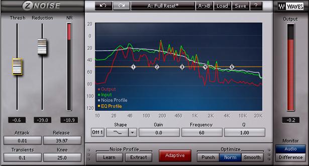 KVR: Z-Noise by Waves - Noise Removal / Restoration VST Plugin