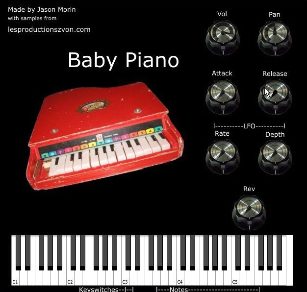 Baby Piano VSTi