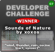 KVRDC07 Winner: xoxos Sounds of Nature!