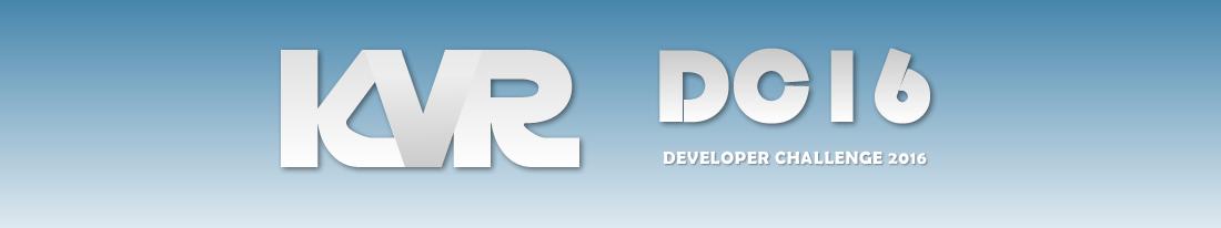 KVR Developer Challenge 2016