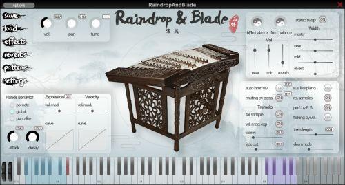 Raindrop & Blade