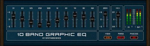 10 Band Graphic Eq