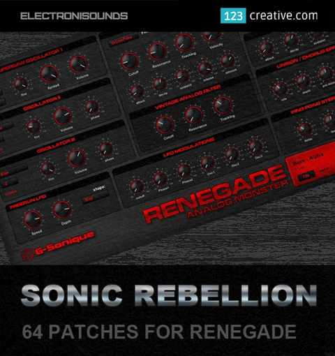 Sonic Rebellion patches for Renegade: 123creative.com