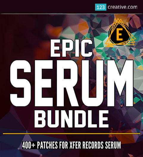 Epic Serum Bundle - presets and wavetables for Xfer Serum synthesizer
