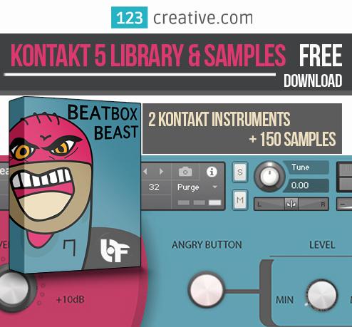 FREE Kontakt 5 Library & Samples - BeatBox Beast