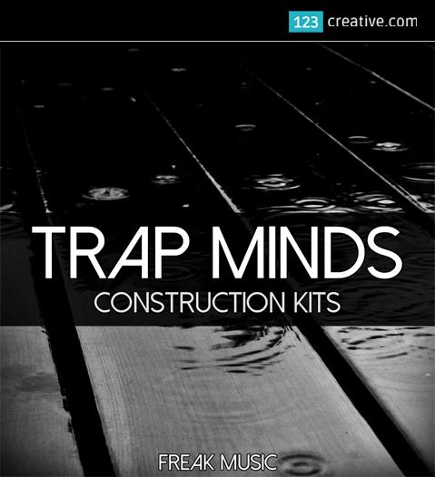 Trap Minds construction kit (kicks, vocals, drums, melodies)