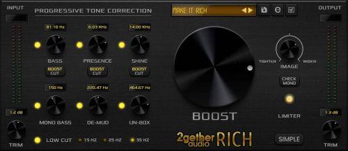 RICH Mastering Processor