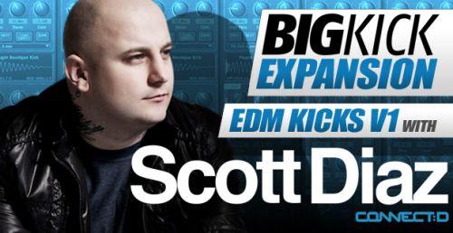 BigKick Expansion V15 - EDM V1 Kicks with Scott Diaz