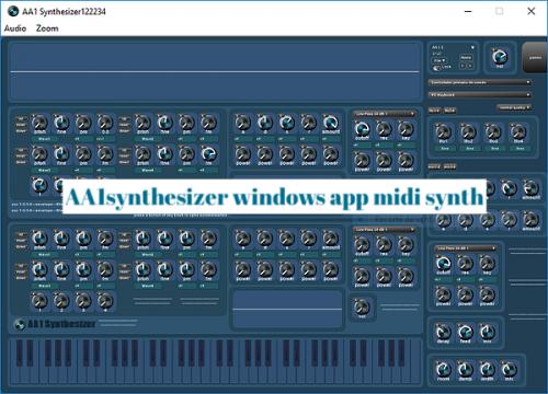 AA1synthesizer