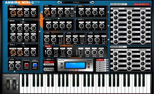 AMBIKA-C MIDI controller