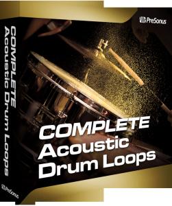 Acoustic Drum Loops Complete