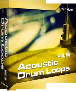Acoustic Drum Loops Vol. 2 - Stereo