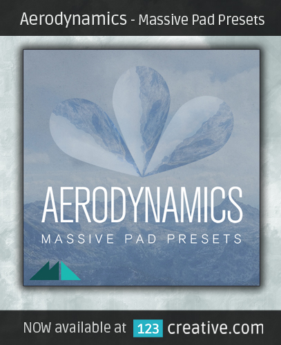 Massive Pad Presets 'Aerodynamics' 123creative.com