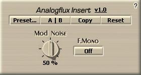 Analogflux Insert